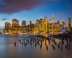 New York Nights (mikelan1986) Tags: city cityscape longexposure amazing beautiful ocean lights travel adventure usa sunset