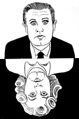 Ed Wood Film Director of Glen or Glenda 2675 (Brechtbug) Tags: ed wood jr director glen or glenda 1953 bride monster 1955 plan 9 from outer space 1959 film movie directors cult classic films movies scifi science fiction stores halloween pen ink illustration portrait portraits 2018 new york city october nyc edward d caricature