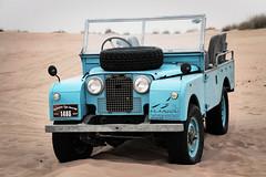 Day 17: Dubai, UAE (BHCMBailey) Tags: dubai united arab emirates uae desert gulf sand dune hot haze land rover series landrover