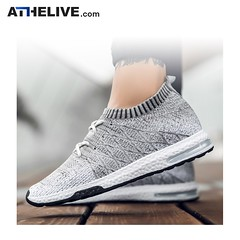 Mens Fly-knitted Comfortable Sock-like Running Sneakers (atheliveshop) Tags: runningshoes runningsneakers sneakers trainers sneakersforsale sneakers4sale fitness sports sportsshoes gym gymshoes runninglife runninggear shoegame shoecam shoeshop shoesale shoes shoeholic fitnessfreak fitnessgear fitnessshop sportswear sportwear sportlife sportlover