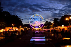 Fußball-WM 2018 - Berlin - Fanmeile (fish.eye65) Tags: wm2018 berlin fanmeile riesenrad ferriswheel blauestunde bluehour wolken clouds