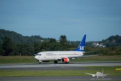 SAS - LN-RRU - B737-800 (Aviation & Maritime) Tags: lnrru sas scandinavian scandinavianairlines boeing boeing737 b737 b737800 boeing737800 enbr flesland bergenairportflesland bergenlufthavnflesland norway bergen