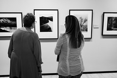 Ansel Adams exhibit (rickmcnelly) Tags: bw x100f chryslermuseum