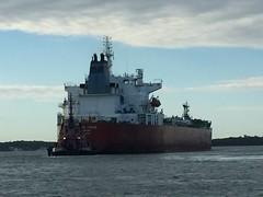 Silver Stacie (jelpics) Tags: silverstacie tanker tug tugboats justice commercialship merchantship boat boston bostonharbor bostonma harbor massachusetts ocean port sea ship