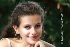 Occhi azzurri veri (Gianni Armano) Tags: occhi azzurri veri modella foto gianni armano photo flickr