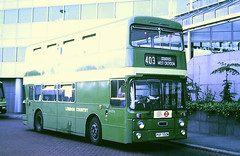 Slide 122-39 (Steve Guess) Tags: west croydon surrey england gb uk bus london country lcbs leyland atlantean south lcsw an puf722m southdown