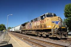 Hermann MO, USA (Paul Emma) Tags: usa missouri hermann railway railroad dieseltrain train unionpacific 5827