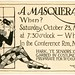 A Halloween Masquerade Invitation! October 23, 1920