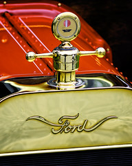Fancy Ford (joegeraci364) Tags: auto chevrolet chevy dodge metz rolls royce antique art artistic automobile car color crest digital emblem ford grill headlight history hood manufactured old regal ride rim scenic status vehicle vintage wealth wheel