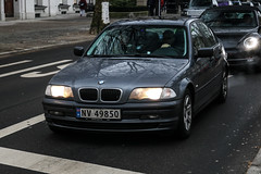 Norway (Notodden) - BMW 3series E46 (PrincepsLS) Tags: norway norwegian license plate nv notodden germany berlin spotting bmw 3series e46
