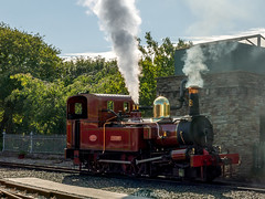 Manx Steam train at Port Erin, Isle of Man (Mr Joel's Photography) Tags: manx steamtrain