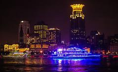 blue night cruiser (werner boehm *) Tags: wernerboehm hongkong macao shanghai peking beijing citascape stadt thegreatwall chinesische mauer