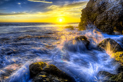 Best Malibu Sunset! Red, Yellow, Orange Clouds! Magical El Matador Beach Sunset! Nikon D810 HDR Photos Dr. Elliot McGucken Fine Art Photography!  14-24mm Nikkor Wide Angle F/2.8 Lens ! (45SURF Hero's Odyssey Mythology Landscapes & Godde) Tags: elliotmcgucken fineart fineartphotography bestmalibusunsetred yellow orangecloudsmagicalelmatadorbeachsunsetnikond810hdrphotosdrelliotmcguckenfineartphotography drelliotmcgucken 1424mmnikkorwideanglef28lens finestart photography photographer sunset beauty waves seacave malibu sunrise nikond810 d810 nikkor nikon 1424mm f28g ed afs wideangle zoomlens zoom lens malibusunrise gorgeous