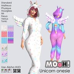 Unicorn onesie (Dalriada Delwood (MOoH!)) Tags: mooh unicorn onesie gift free group sl