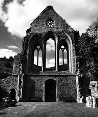 Abaty Glyn-y-groes (Rhisiart Hincks) Tags: gwennhadu dubhisbán dubhisgeal blackandwhite duagwyn cistercian sistersiaid cadw wales cymru denbighshire sirddinbych ballóga fothrach dismantroù ruins adfeilon mainistir abbey abati abaty glynygroes vallecrucis