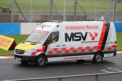 IMG_6222 (routemaster2217) Tags: britishgtchampionship doningtonpark motorracing motorsport racingcars msv ambulancerescue mercedesbenzsprinter