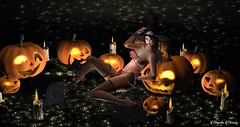 M&M Special Halloween Contest (мαчєℓαι ηєιѕѕєя) Tags: second life sl secondlife mm halloween contest blog blogger maitreya bento mesh clothes photographer picture photography new news fashion female woman girl womanfashion femalefashion dark witch