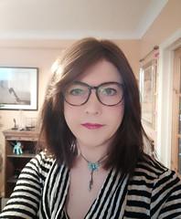 New glasses (Joanne (Hay Llamas!)) Tags: transgender shemale genderfluid genderqueer tg brunette tgirl gurl cute uk brit british britgirl joanne hayllamas glasses