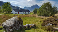 Black Rock Cottage. Glencoe Scotland