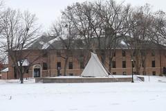November 12, 2018 (University of Minnesota, Morris Alumni Association) Tags: mall tipi winter wintercampus campusmall
