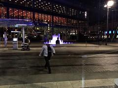 (RadarO´Reilly) Tags: street fountain station streetphotography night dresden