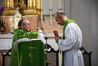 Toma de posesión del P. José Ruiz Córdoba
