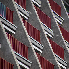 facade (morbs06) Tags: cologne köln opera abstract architecture balcony balustrade building city concrete diagonal facade light lines repetition square stripes windows