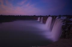Blue Hour   Chitrakote (_Amritash_) Tags: bluehour waterfall chitrakote indravati longexposure chitrakoteatbluehour landscape travel chhattisgarh bastar cliff valley horseshoe