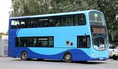 Vision Bus FJ08BYX on afternoon schools at Blackrod Interchange, Bolton. (Gobbiner) Tags: eclipsegemini visionbus b9tl fj08byx blackrod yorkshirecoastliner 419 bolton wrightbus volvo