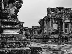 180726-122 Gallerie (clamato39) Tags: angkor angkorwat cambodge cambodia asia asie voyage trip religieux religion old oldbuilding patrimoine historique history historic noiretblanc blackandwhite bw monochrome