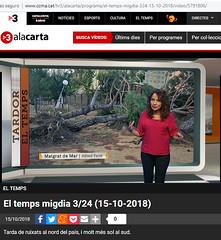 Canal_324_TN_Migdia_15-10-2018 (Alfred Farré) Tags: fotoalfredfarre 324 tv3 tn