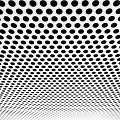 iPhone Abstract No 38 (No Great Hurry) Tags: nakedabstract cmwdblackwhite depthoffield dof perspective tabletop infinityandbeyond infinity infinite repetition noiretblanc blackandwhite bnw holes abstract iphoneabstract robinmauricebarr nogreathurry iphone surface lines geometric bsquare