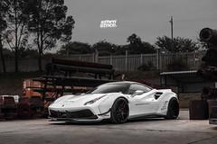 RACE! Ferrari 488 GTB (cj_levendal) Tags: exotic super car ferrari libertywalk 488gtb red airedout forgiato jrz suspension race wars stance stancenation gauteng johannesburg southafrica