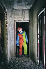 Killer Clown (gorejorge) Tags: scary miedo terror clown payaso asesino abandonado horror sigma1020
