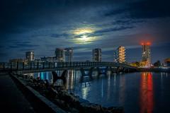 Amager Skyline by Night (JamieDieu) Tags: nightphotography night nikon long exposure blue skyline