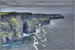 Cliffs of Moher (Runemaker) Tags: cliffsofmoher cliffs moher atlantic ocean sea waves sky nature landscape irish ireland county clare