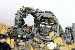 Metal and ruin (First Order Lego) Tags: legostarwarsmoccool lego starwars moc jakku legobattlefront2 epic cool