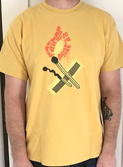 #3143A Rainer Maria - Match Stick (Minor Thread) Tags: minorthread tshirtwars tshirt shirt vintage rock concert tour merch yellow rainermaria matchstick saddlecreek indie punk