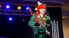 DSC09141 (Kory / Leo Nardo) Tags: pacanthro pawcon paw con pac anthro convention fur furry fursuit suiting mascot sona fursona san jose doubletree hotel california dance party deck animals costuming pupleo 2018
