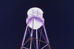Empty (jeffr71) Tags: water tower gilbert arizona sky watertower