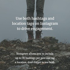 Instagram allows you to include up to 30 hashtags per post and tag a location, don't forget to use both. #instagrammarketing #marketing #smm #socialmediamarketing #instamarketing #socialmedia #social #business #Entrepreneur #Entrepreneurship https://www.f (thisismyurlcom) Tags: marketing social media instagram allows you include up 30 hashtags per post tag