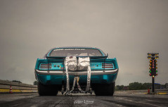 Suzy Q at Drachten. (Willem Vernooy (FoToWillem)) Tags: dhra cuda barracuda suzyq dragerace dragracer dragracing dragstrip dragrace drachten dr88 plymouth mopar uscar usacars ussteel usacar autosport race racer americancar americanmusclecar car carshoot ftw fotowillem willemvernooy nederland netherlands holland hollanda holandes kirsten