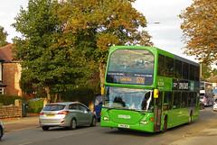 Nottingham City Transport 995 (SRB Photography Edinburgh) Tags: nottingham transport city lime scania omnidekka buses bus uk england