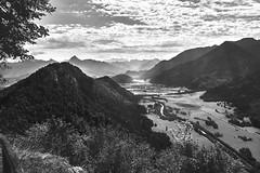 Ammergauer Alpen (Dirk Fietz Fotografie) Tags: dirkfietzfotografie blackandwhite blackwhite blackandwhiteonly flickrsbest d800 nikon247028 landschaft himmel light berg ammergau pfronten bayern