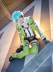 _MG_0640 (Mauro Petrolati) Tags: sinon sword art online gun gale romics 2018 cosplay cosplayer laura libra