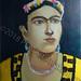 """""""Frida Kahlo"""" by George C, acrylic, $120.00"""