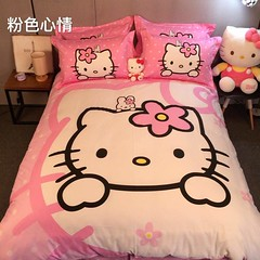 Cute Hello Kitty Duvet Cover Set (mywowstuff) Tags: gifts gift ideas gadgets geeky products men women family home office