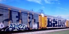 (timetomakethepasta) Tags: awr msk kick bedr freight train graffiti art autorack wholecar union pacific