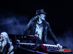 Melodic - symphonic icons Nightwish headline the final night of Bloodstock festival 2018 on the Ronnie James Dio stage. Featuring Floor Jansen, Marko Hietala, Tuomas Holopainen, Emppu Vuorinen, Troy Donockley and Kai Hahto (jacemediauk) Tags: 2018 act band bass bloodstock british drums dutch female festival finnish headline heavy keyboards lead loud melodicrock symphonic vocals cattonpark derbyshire unitedkingdom gbr