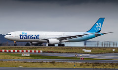 Air Transat Airbus A330-342 C-GKTS (Florian GIORNAL) Tags: air transat airbus a330342 cgkts lfpg paris roissy charles gaulle avgeek aviation aviationphotography aircraft airport aeroport airliner spotting spotter take off décollage special livery décoration 30 ans years